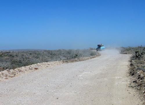 The road out of El Conejo